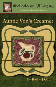 Auntie Von's Creamer - Punchneedle