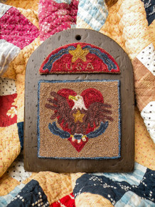 For Love of Country - Punchneedle Drawn Design