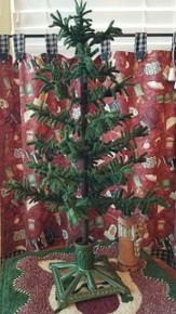 """18"""" tall tree pictured (see 2nd picture for fabric in kit)"""