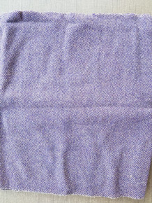 "1/2 yard FELTED wool - measures approximately 52"" x 16"".  Washed as a measured full yard, then cut."