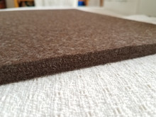 """Side view to show the 1/2"""" thickness - thicker than many ironing pads on the market."""
