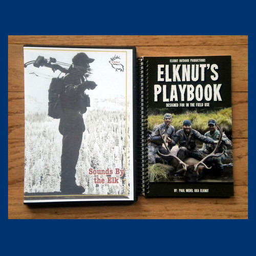 ElkNut's Playbook, The Essential guide to Elk Hunting. - pkg 2