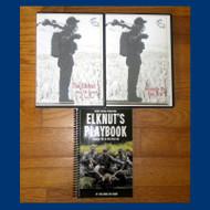 Elknut's Playbook (hardcopy) - pkg 5 Sounds by the Elk CD with bonus MP3 The Elknut 5 DVD