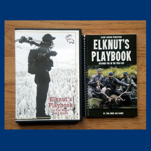 ElkNut Playbook (hardcopy) with Audiobook 1 The ultimate guide to hunting Elk - pkg 4