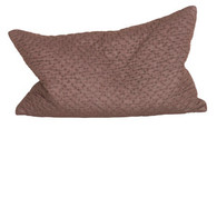 PILLOW: MOCCA KANTHA BUCKWHEAT LUMBAR  cotton