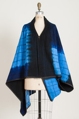 CAPES: MOSAIC PLAID BLUE