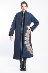 CIRCLE of 2: Kantha Quilted Long Coat