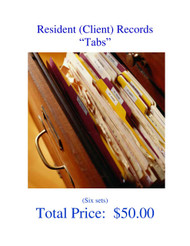 Records System - Resident Tabs