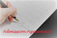 Admission Agreement
