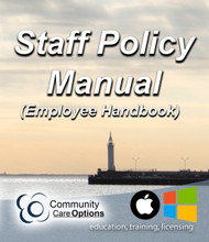 Staff Policy Manual (Employee Handbook) USB Version