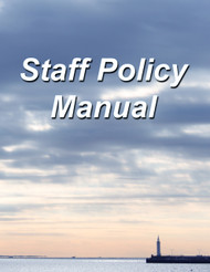 Staff Policy Manual (Employee Handbook) Binder Version