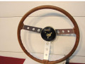 STEERING  WHEEL,  SUPERIOR WOOD GRAIN WHEEL NOS