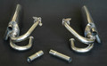 DIVIDED HEADER EXHAUST SYSTEM POLISHED STAINLESS