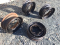 SET OF 4 VW THING ROAD WHEELS VW THING RUSTY
