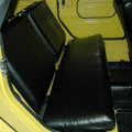 REAR SEAT COVERS  BLACK SMOOTH VINYL