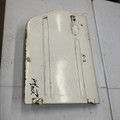 RIGHT SIDE DOOR WHITE WITH DENT R2
