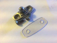 Pin fastener, seal, and 2 stainless screws