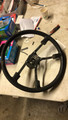 SPORT GRIP STEERING WHEEL 74 WITH HORN BUTTON COMPLETE SMALL HUB