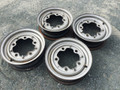 SET OF FOUR ROAD WHEELS VERY GOOD CONDITION
