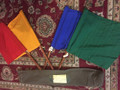 MILITARY FLAG SET OF FOUR WITH CARRY BAG TYPE 181