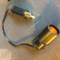 AUXILIARY SOCKET ADAPTER EURO TO US  (DASH PLUG NOT INCLUDED)