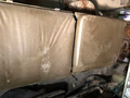 REAR SEAT BACK M63 SET LEFT AND RIGHT SIDE WITH COVERS