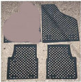 RUBBER FLOOR MATS SUPER THICK SET OF 3