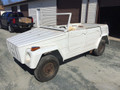 VW THING COMPLETE BODY ROLLING CHASSIS WITH AIR CONDITIONER