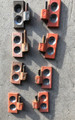 DOOR HINGE KIT ORANGE USED (SET 2)