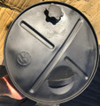 "RESERVE SPARE TIRE GAS CAN 15"" EXCELLENT CONDITION #4"