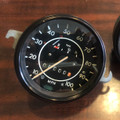 SPEEDOMETER ZERO MILE WITH FUEL GAUGE BLACK BEZEL