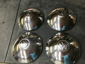HUBCAP SET OF FOUR STAINLESS STEEL