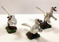 Raptor Nestlings in White by Beasts of the Mesozoic