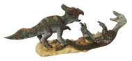 Velociraptor vs Protoceratops Resin Kit by Kazaryan
