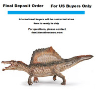 Final Deposit for Spinosaurus (2019 version) by Papo