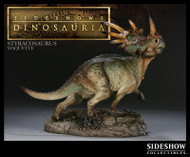 Styracosaurus Maquette by Sideshow