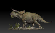 Nasutoceratops Grazing Resin Kit by Passion Charger