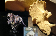 Triceratops Resin Kit by Michael Trcic