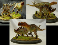 Ceratosaurus vs. Kentrosaurus Resin Kit by Foulkes
