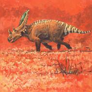 """Springtime Romp"" Chasmosaurus by Rodrigues"