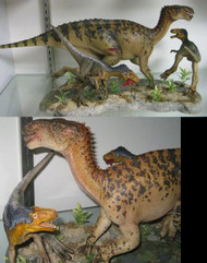 Eotyrannus vs. Iguanodon Resin Kit by Foulkes