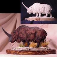 Elasmotherium Resin Kit by Paleocraft