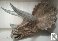 Triceratops bust by Dino Dream