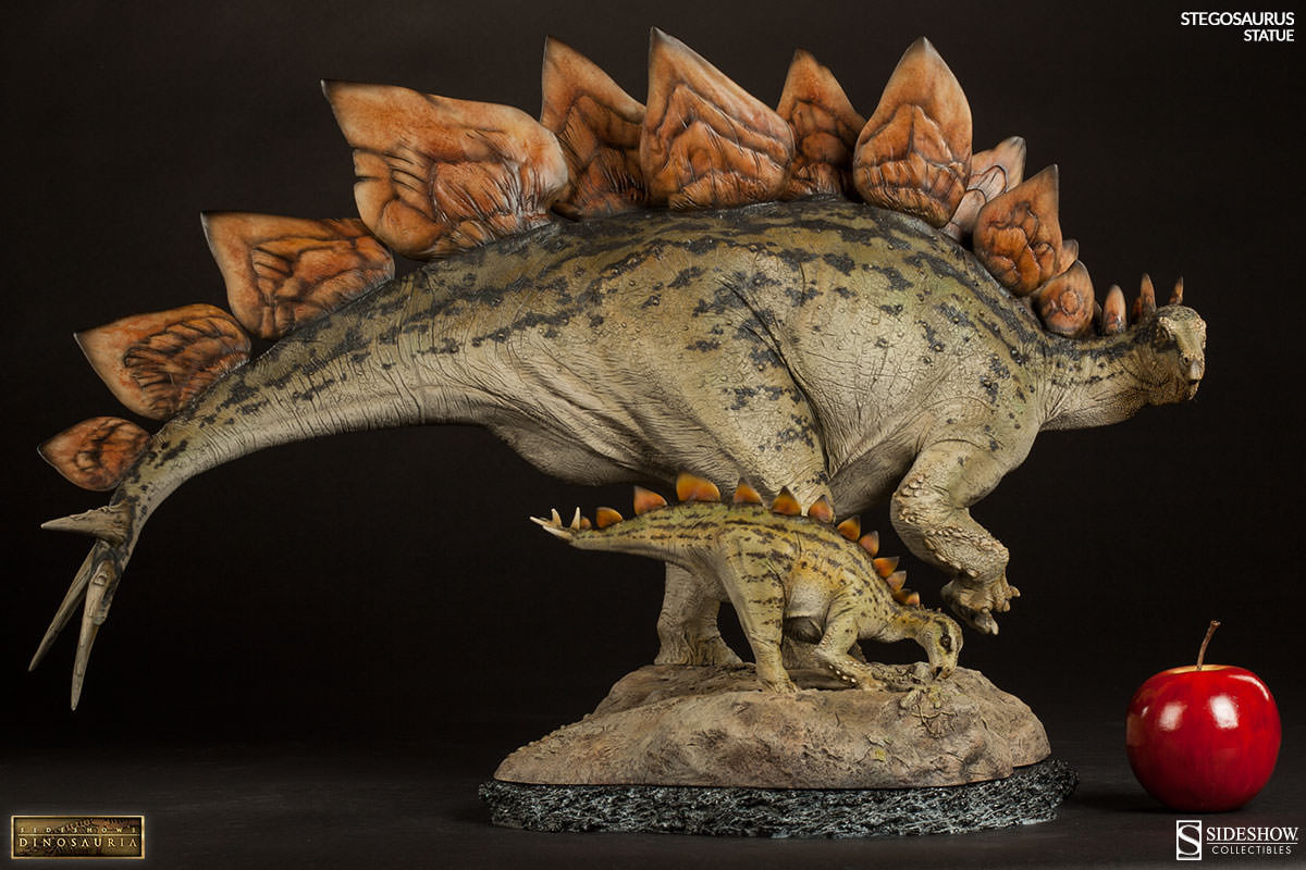 stegosaurus by sideshow 2015 version dans dinosaurs