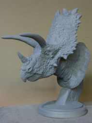 Chasmosaurus Bust Resin Kit by McVey
