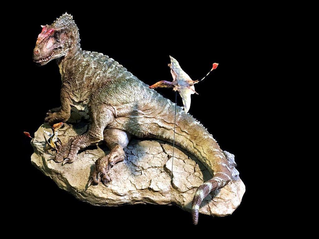 Yangchuanosaurus Resin Kit by Dinone Studio - Dan's Dinosaurs
