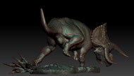 Nasutoceratops Resin Kit by Passion Charger