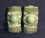 US GI MILITARY BIJAN'S DIGITAL CAMO Tactical Paintball Elbow Pads NICE CONDITION