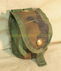 US MILITARY SDS MOLLE II WOODLAND CAMO GRENADE POUCH 4130 NICE
