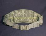US ARMY MOLLE II DIGITAL ACU CAMO MOLDED WAIST BELT NEW / LIKE NEW CONDITION